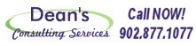 Dean's Consulting Services - 902.877.1077
